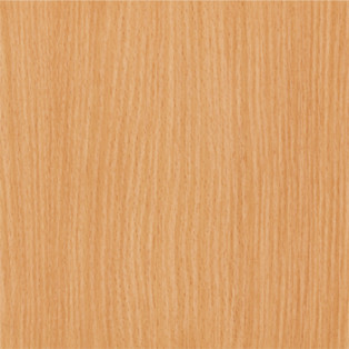 Particle board showing beech finish