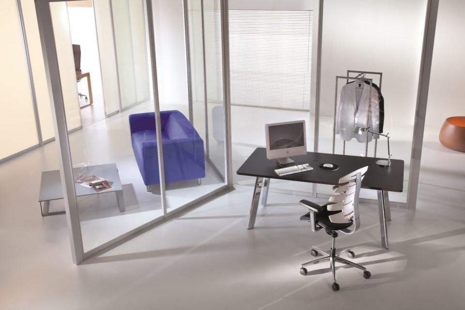 floor to ceiling office screen